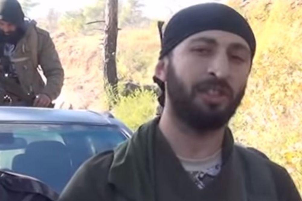 TERORISTA IZVEDEN PRED SUD: Pokrenut krivični postupak protiv ubice ruskog pilota