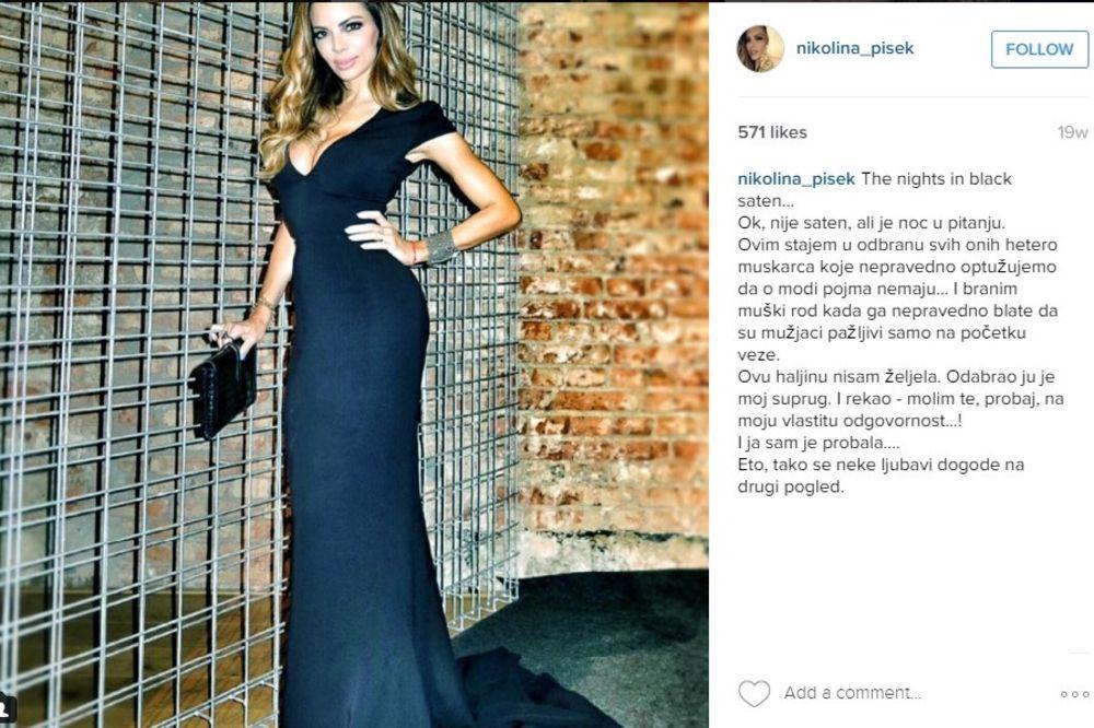 (FOTO) KOJI BLAM: Nikolinu Pišek su zbog ovakvog izgleda pomešali sa transvestitom