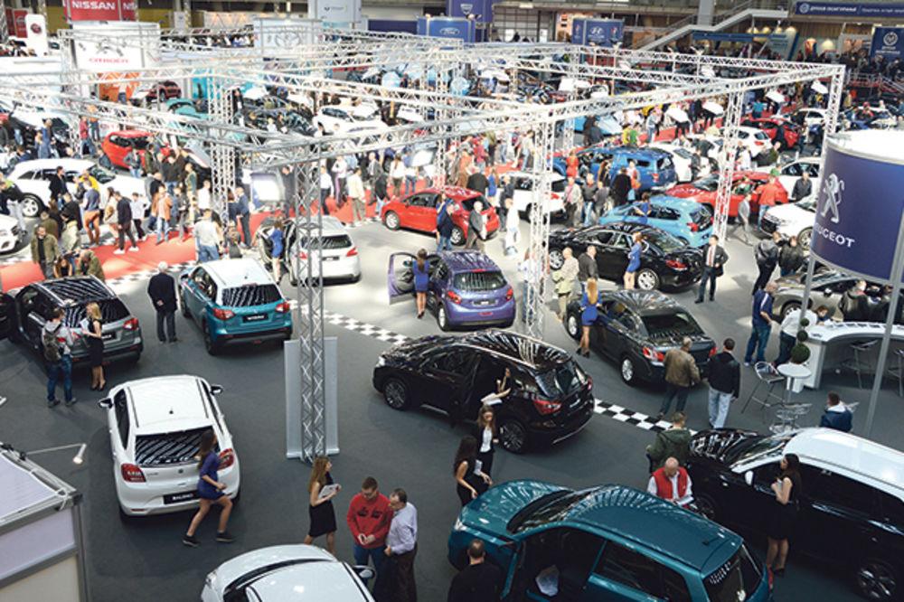 Bilans sajma automobila: Japanska vozila najprodavanija