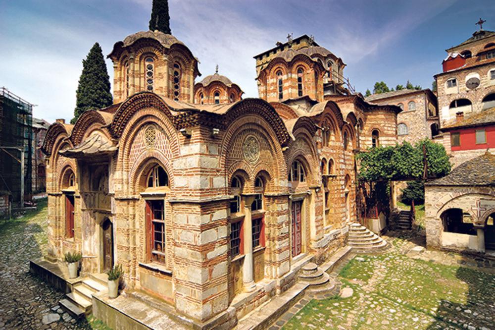 Hilandar, manastir Hilandar, foto Shutterstock