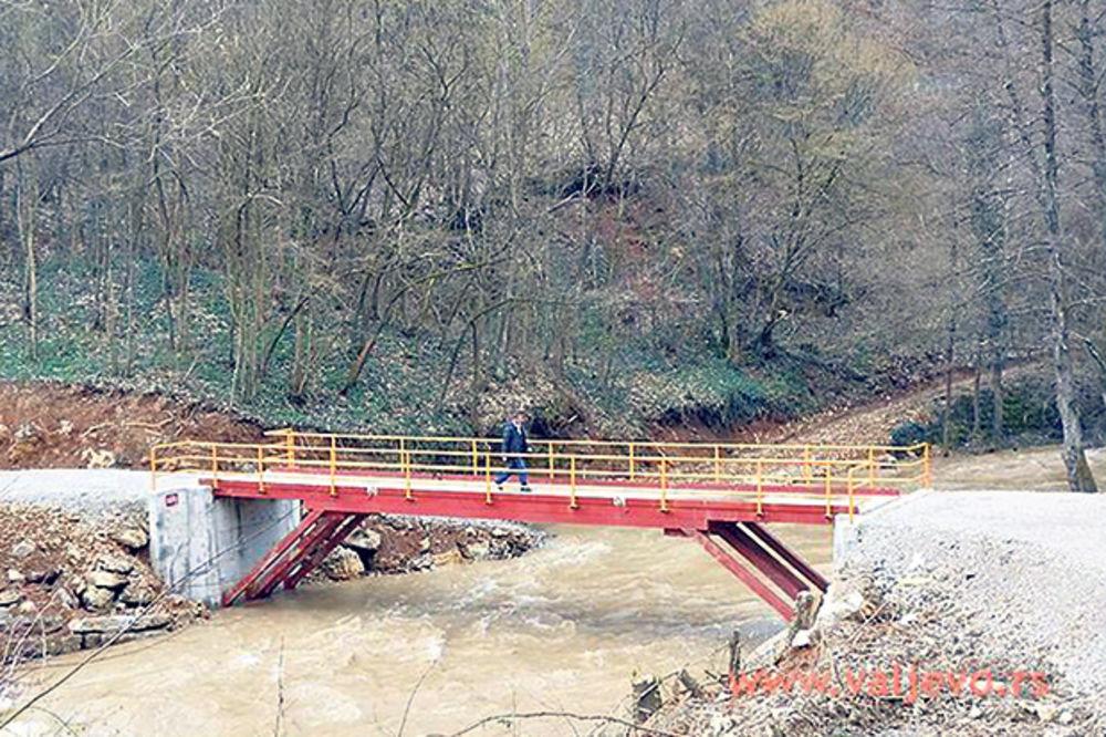 Valjevo za godinu dana dobilo osam mostova