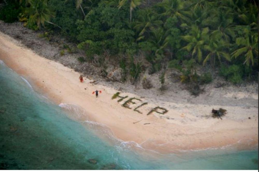 (VIDEO) KAO NA FILMU: Trojica ribara sa pustog ostrva spasena zahvaljujući poruci na plaži