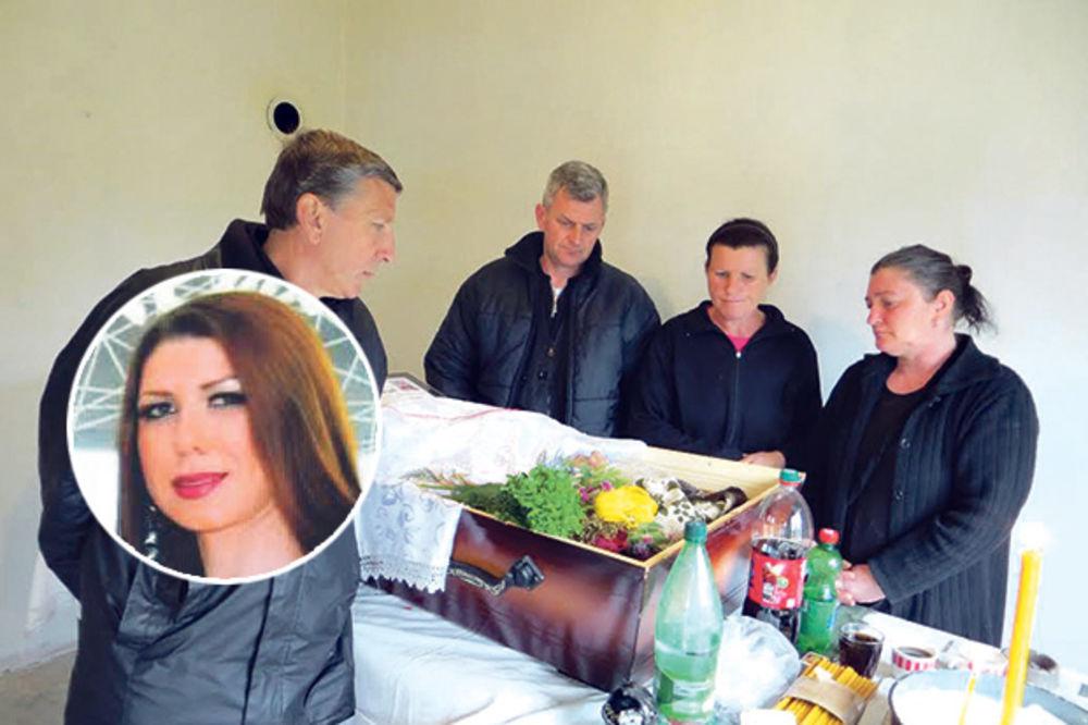 Snežana Mišić, Desanka, sahrana,