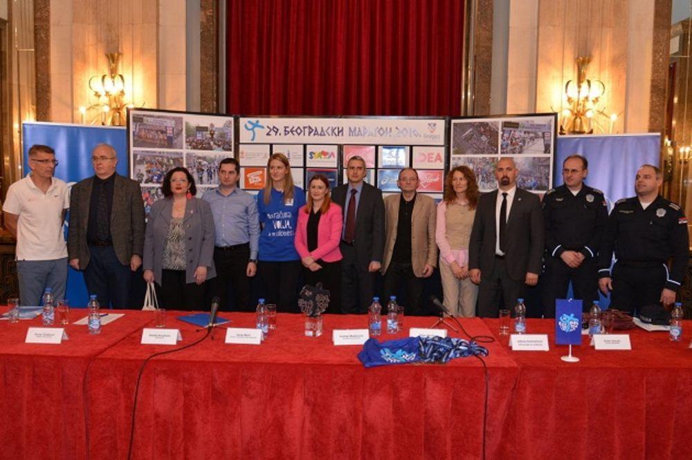 I NEBO JE NA STRANI SPORTA: Glavni grad je spreman za 29. Beogradski maraton
