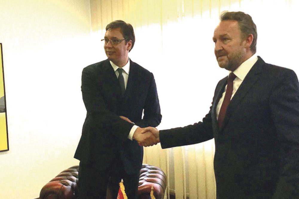 IZETBEGOVIĆ: Ne slažem se s Durakovićem, nikada ne bih rekao da je Vučić nepoželjan u Potočarima