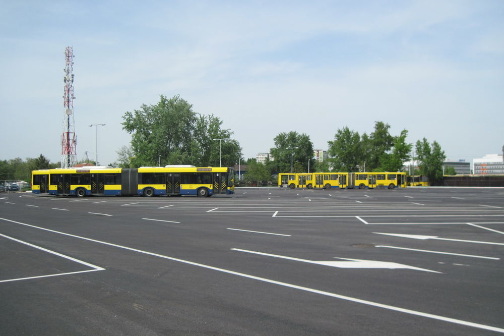 ZA 75 VOZILA: Obnovljen parking u pogonu GSP Novi Beograd