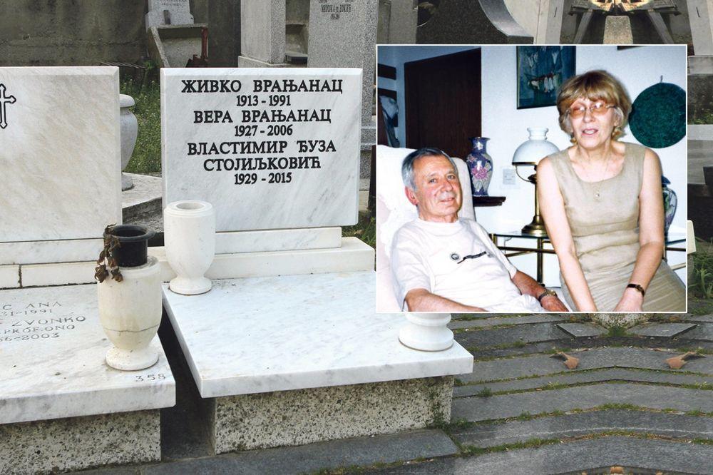 Đuza Stojiljković, grob, foto Damir Dervišagić