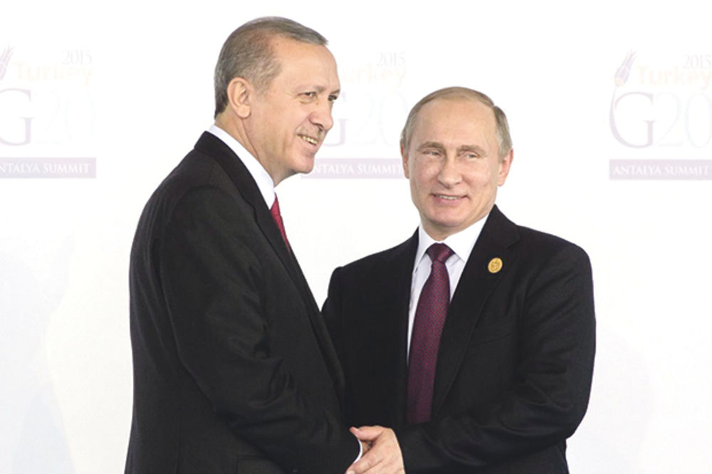 ISTORISKI SUSRET: Erdogan i Putin u četiri oka 9. avgusta u Sankt Peterburgu!