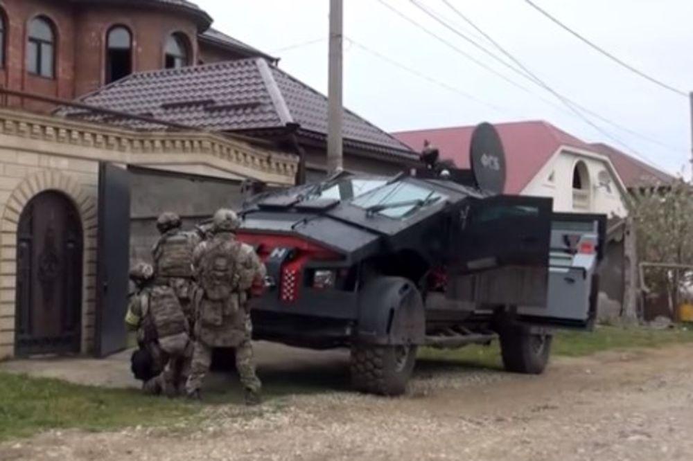 (VIDEO) NIKO NIJE ZNAO DA JE VEĆ U AKCIJI: Tajno rusko vozilo snimljeno u Dagestanu