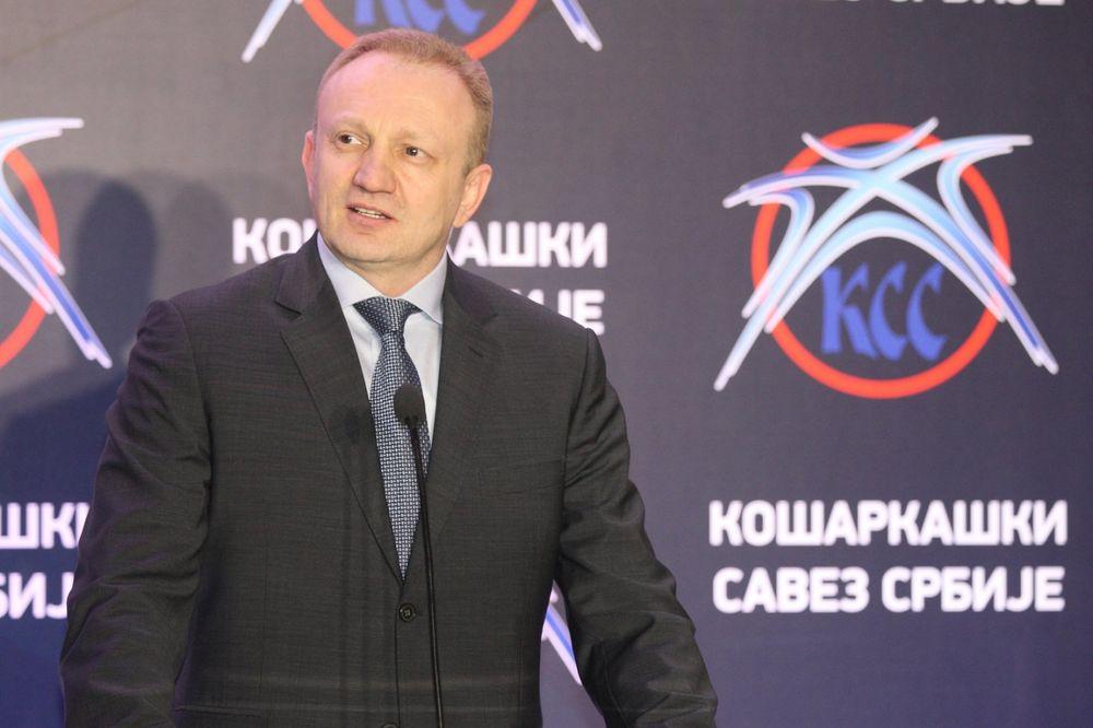 ĐILAS: Očekujemo plasman košarkaša na Olimpijske igre, a onda i medalju