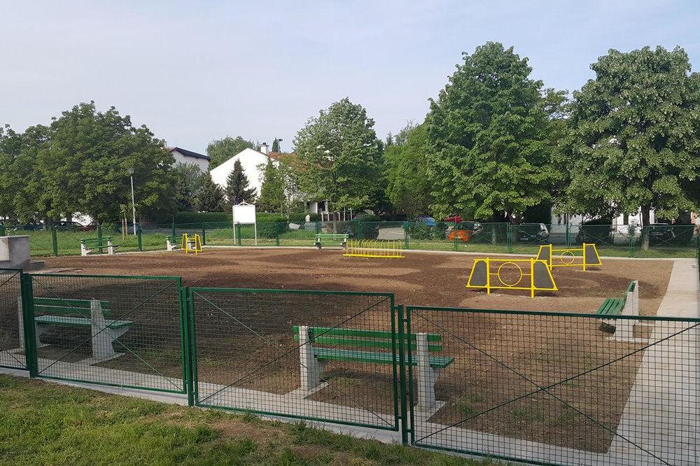 SAM IH JE BOG POGLEDAO Ograda dečjeg igrališta u Leskovcu sručila se na 3 devojčice, jedna povređena