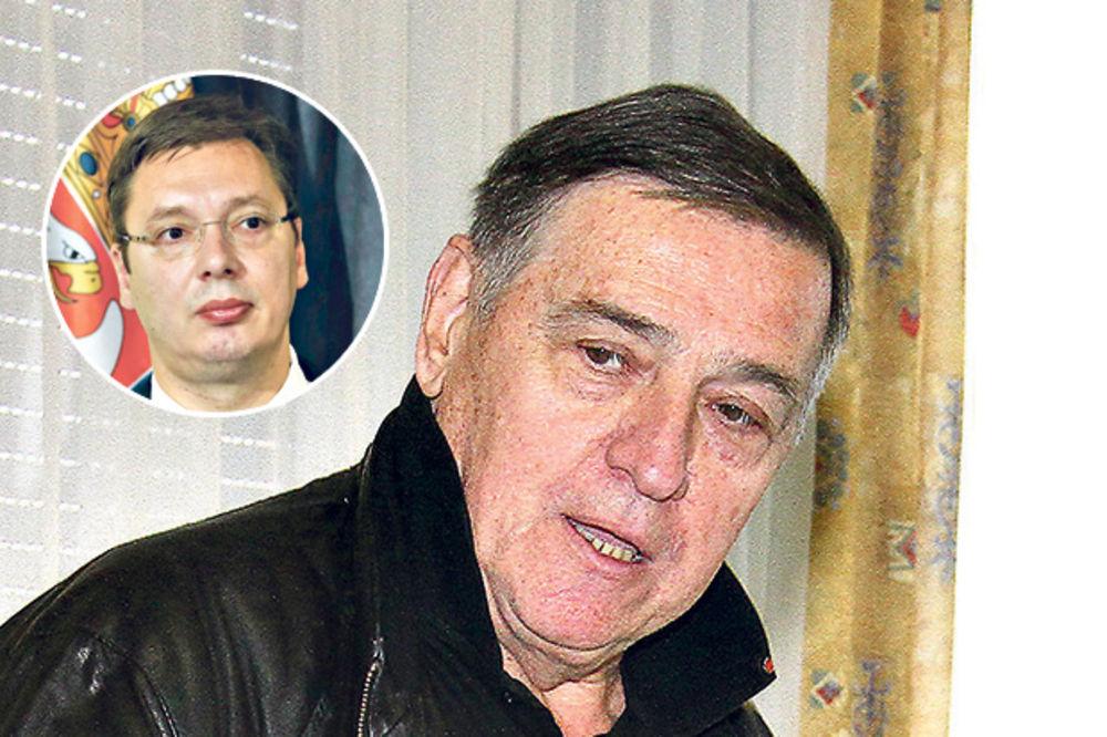 MILUTIN MRKONJIĆ ZA KURIR: Ja sam baš iznenađen i uvređen Vučićevom izjavom!