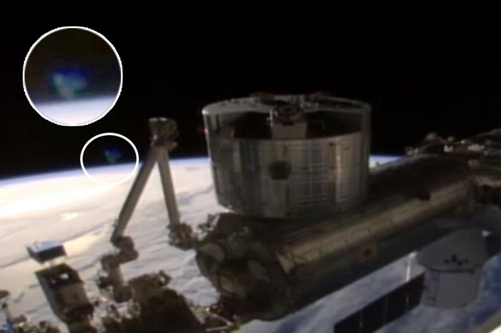 (FOTO) NASA KRIJE NLO: Šta je ovaj objekat snimljen sa Međunarodne svemirske stanice?