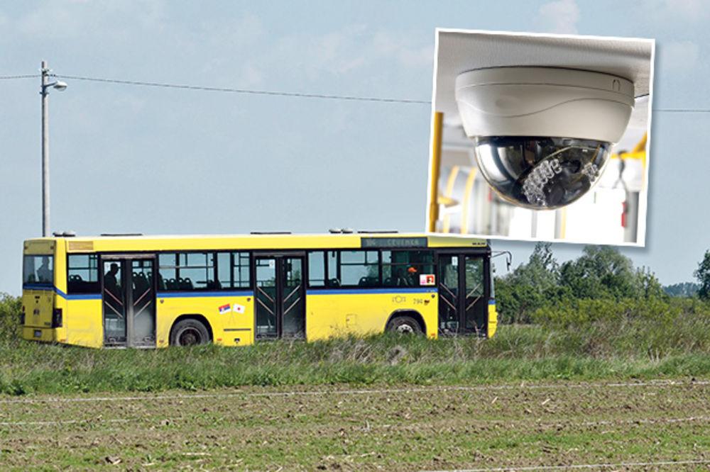 Dokaz... Autobus sa linije 104 koji vozi do Crvenke