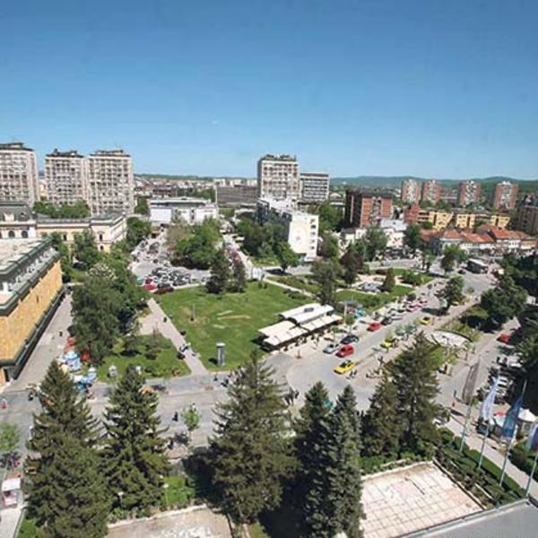 Sudar autobusa i automobila u Kragujevcu