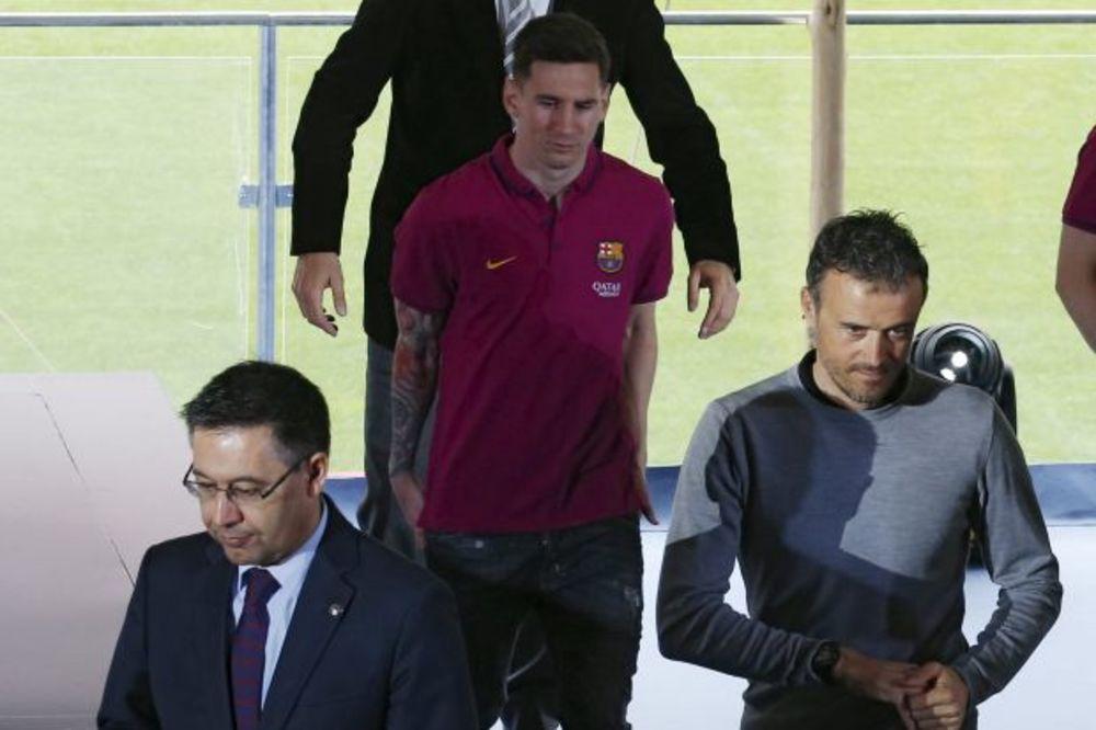 MESI I ENRIKE SE NE VOLE? Prva zvezda Barselone i trener Katalonaca dokazali suprotno
