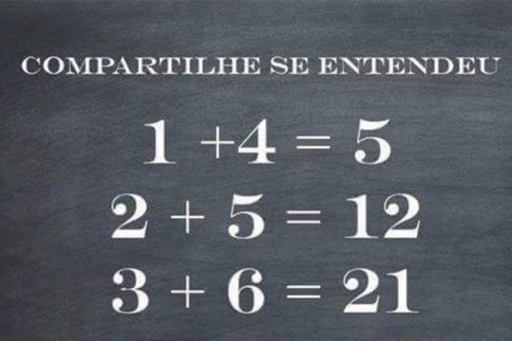 DA VIDIMO KOLIKO MI ZNAMO: Matematički zadatak koji je zaludeo celi internet!