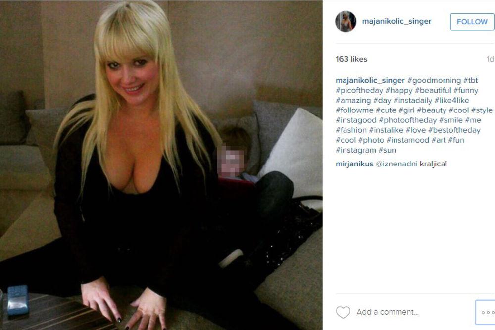 (FOTO 18+) MAJA NIKOLIĆ GOLA: Pevačica ne prestaje da iznenađuje fotografijama!