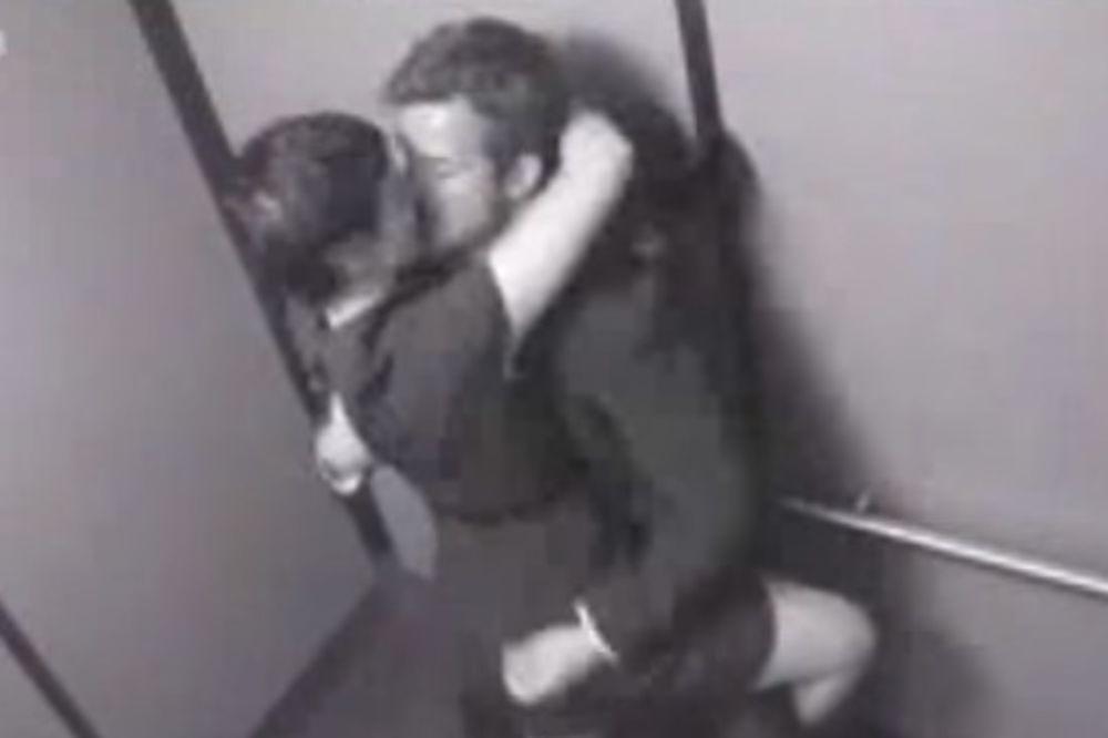 (VIDEO) SEKS U LIFTU: Imali su odnos u kabini, ali nisu znali da ih neko posmatra...