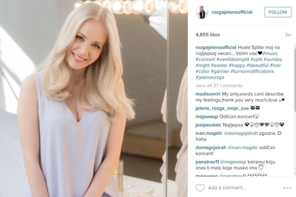 (FOTO) JELENA ROZGA IZNENADILA FANOVE: Da li se to pevačica ugojila ili je u drugom stanju?