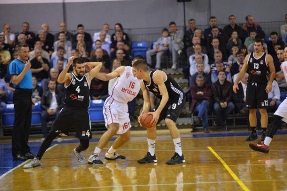PRIPREME ZA SUPERLIGU: Košarkaši Partizana opet pobedili Metalac