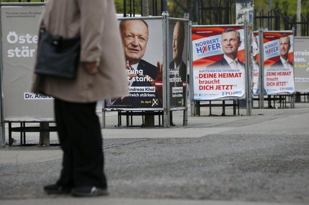 OTVORENA BIRALIŠTA: 6 kandidata na predsedničkim izborima u Austriji