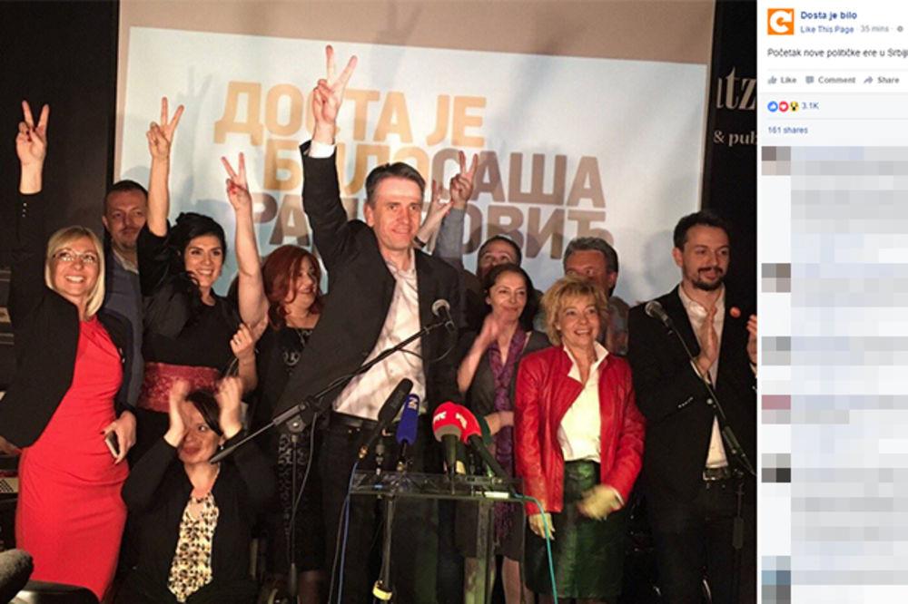 DOSTA JE BILO: Nećemo ulaziti u vlast sa SNS na Vračaru i Starom gradu
