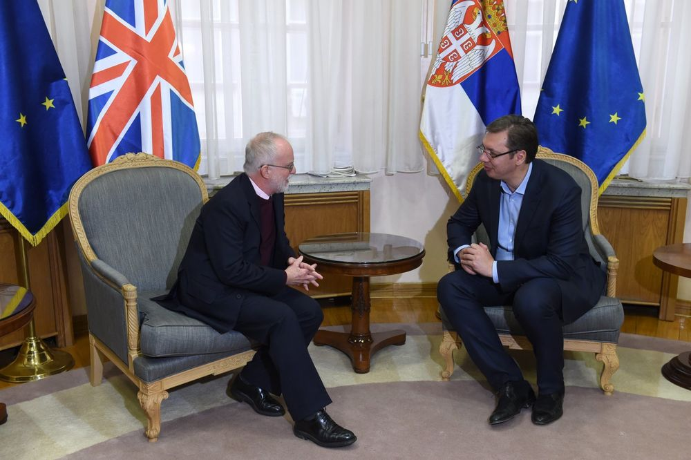 VUČIĆ SA BRITANSKIM AMBASADOROM: Izbori protekli u mirnoj i demokratskoj atmosferi