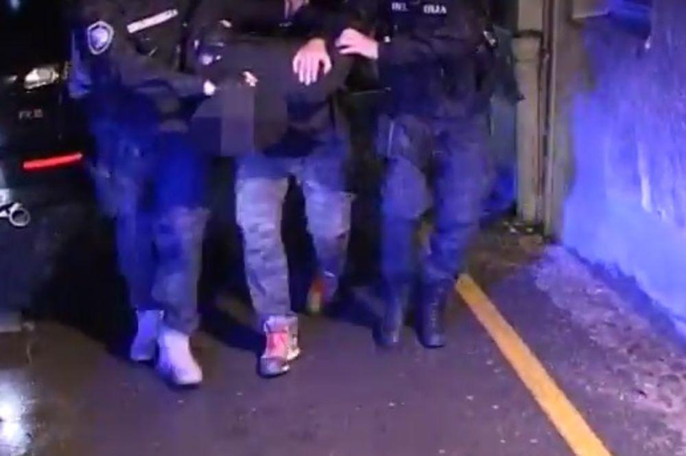 (KURIR TV) FILMSKA AKCIJA 40 POLICAJACA U BORČI: Pogledajte kako su uhapšeni lopovi