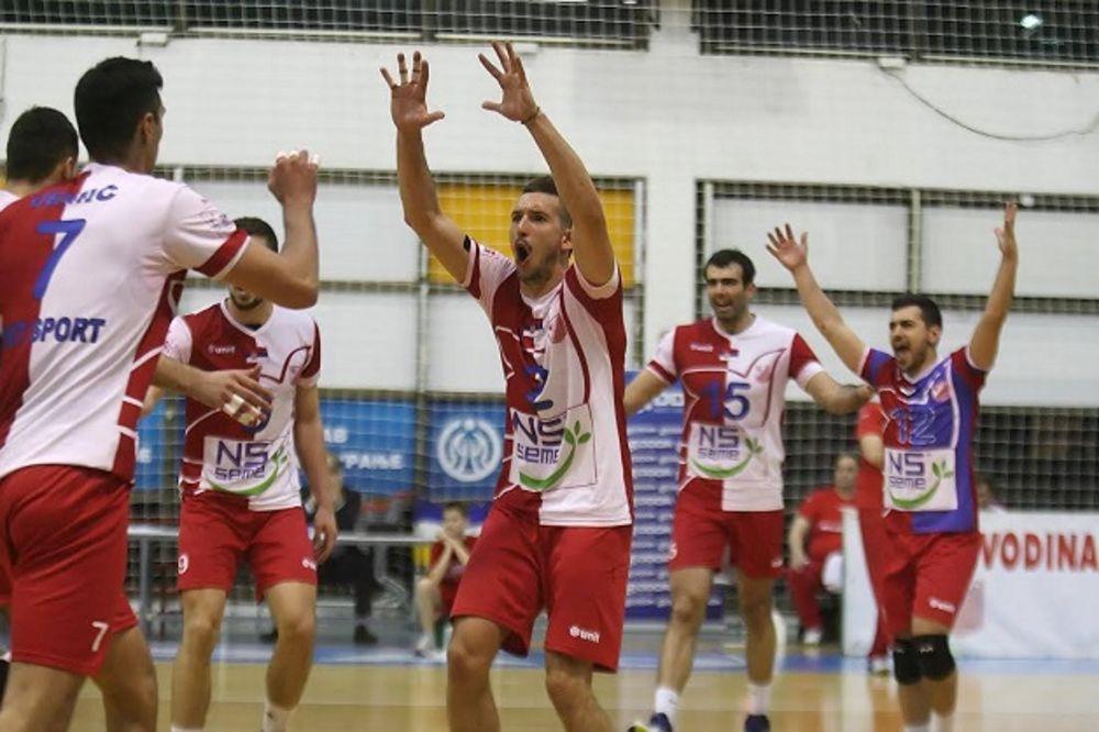 OPET DRAMA: Odbojkaši Vojvodine pobedili Zvezdu, pa će o šampionu odlučivati majstorica