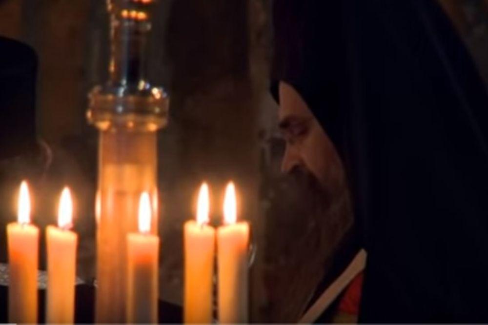 VIDEO POBEDILAC SMRTI Strasna sedmica u manastiru Visoki Dečani