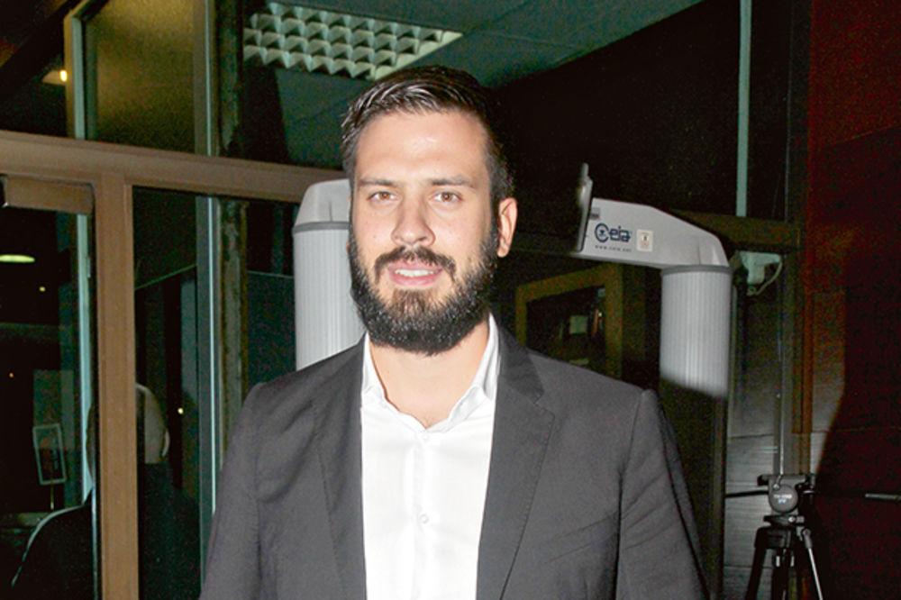 TREZNIO SE U POLICIJI: Marko Rokvić vozio pijan naduvao 1,2 promila