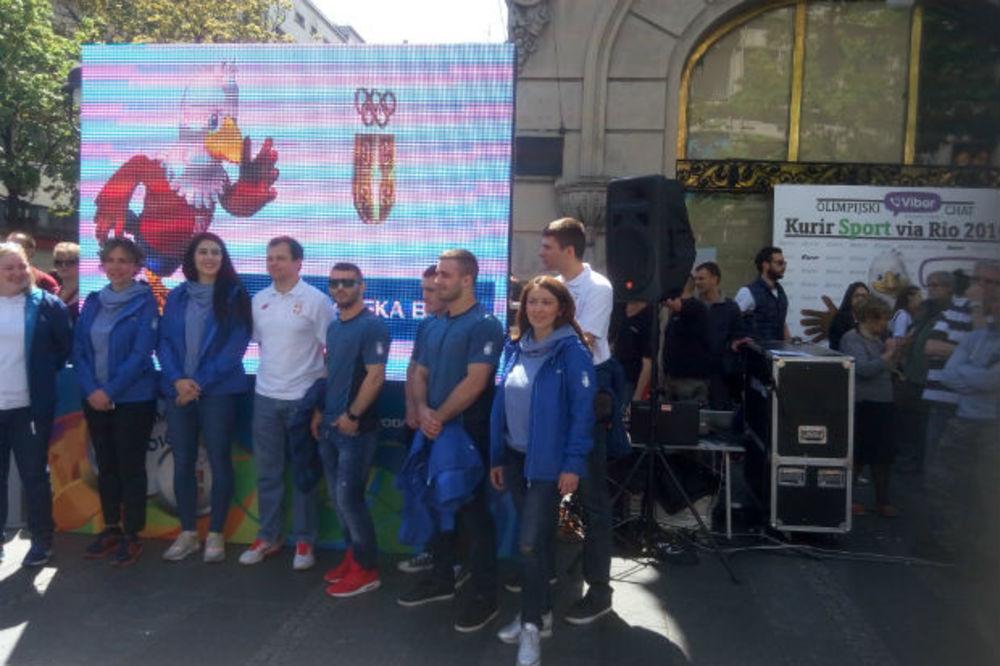 (KURIR TV, FOTO) NA 100 DANA DO RIJA: U Beogradu održan olimpijski karneval