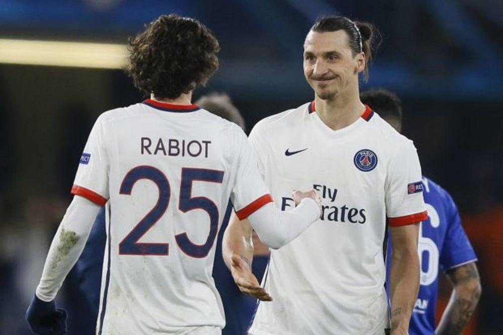 TUČA SAIGRAČA NA TRENINGU: Rabio provocirao Ibrahimovića, a onda je Zlatanu pala roletna