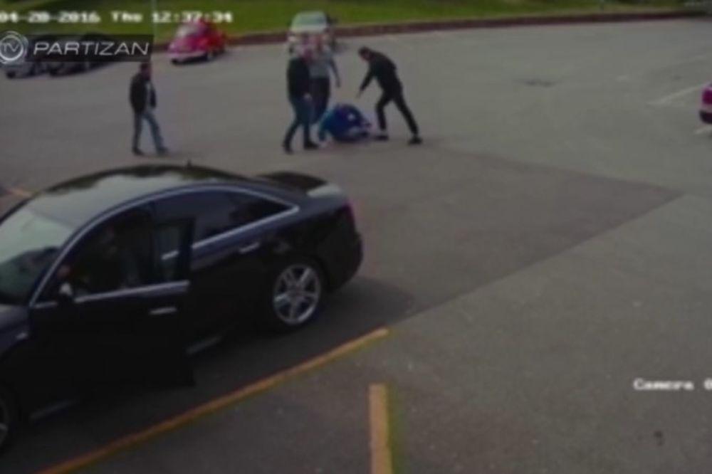 (VIDEO) KURIR SAZNAJE PRIZNALI KRIVICU: Navijači osuđeni za napad na Vazurino obezbeđenje!
