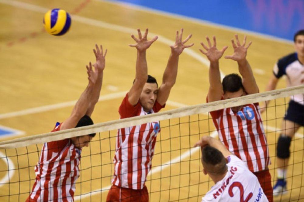 CRVENO-BELI NA KORAK OD TITULE: Odbojkaši Zvezde pobedili Vojvodinu u Novom Sadu za 2:1 u finalu