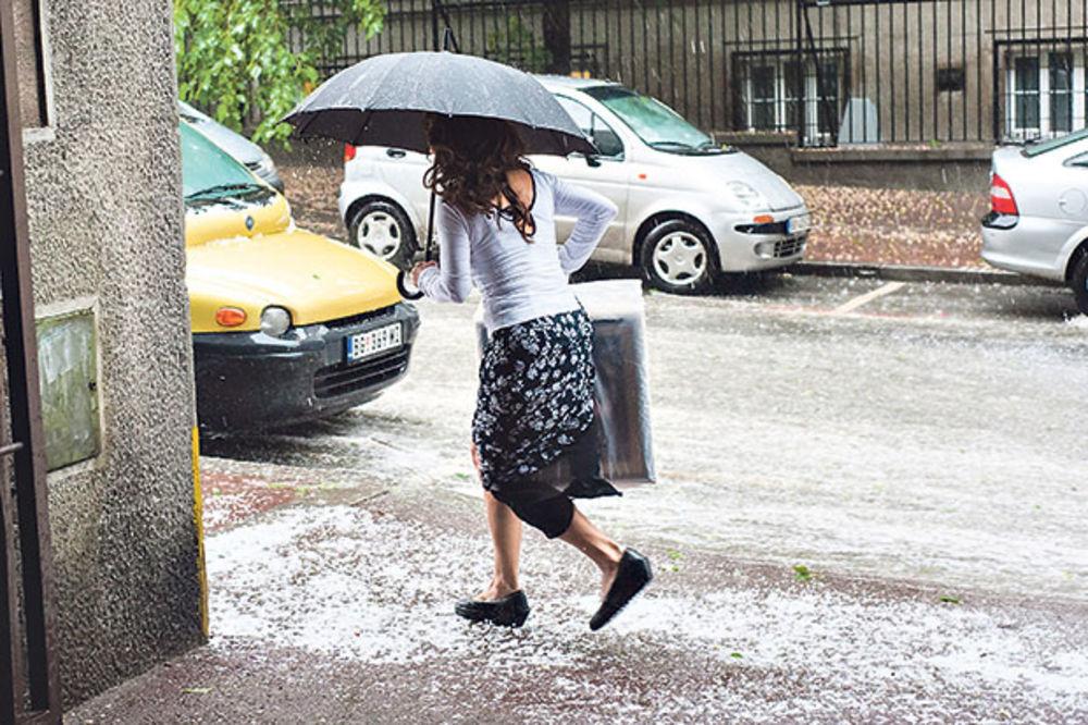Od nedelje do utorka pašće 30 do 40 litara kiše po kvadratu