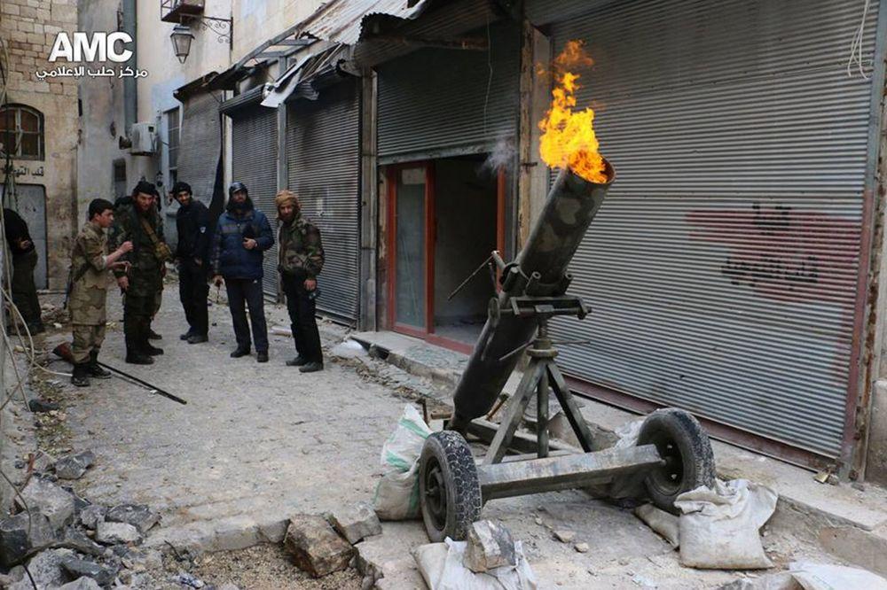 MINOBACAČEM NA RUSKU AMBASADU: Džihadisti napali predstavništvo u Alepu