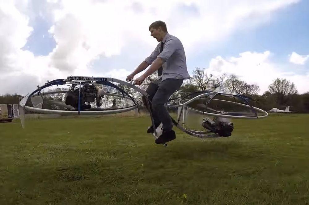 (VIDEO) BUDUĆNOST KUCA NA VRATA: Oduševljava svet svojim izumima, a sad je napravio leteći motor