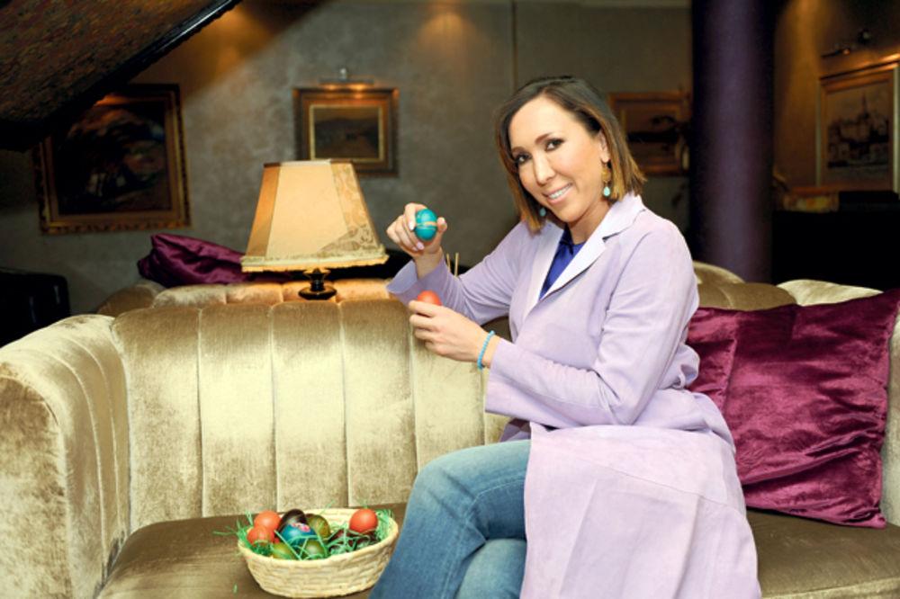 JELENA JANKOVIĆ: Obožavam da farbam jaja!