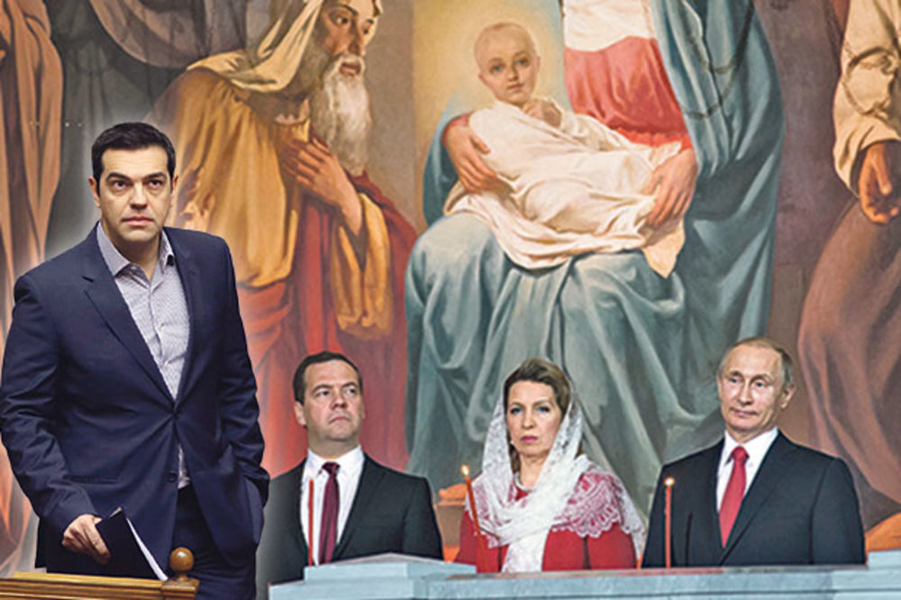 SLAVE VASKRS: Putin u crkvi, Cipras sa MMF
