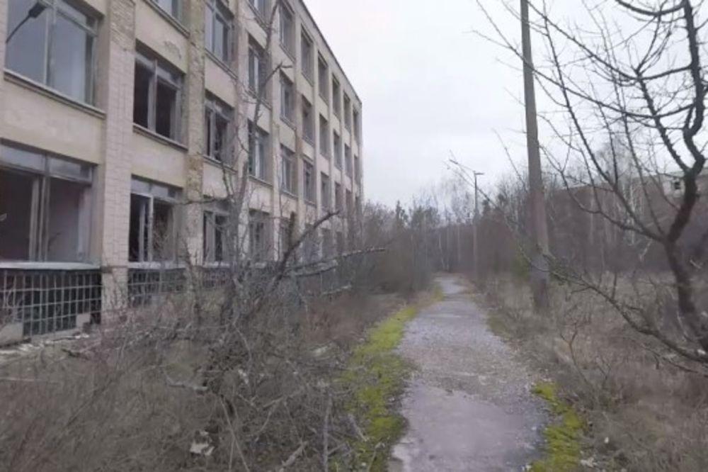 GRAD DUHOVA: Doživite Černobilj u video od 360 stepeni