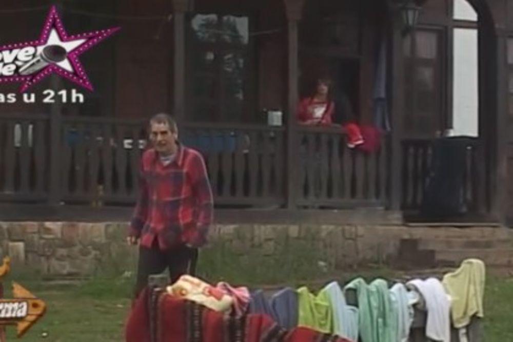 (FOTO) PA ZAR I NA VELIKU SUBOTU: Mića pljunuo Gogu, ona njega ogrebala!