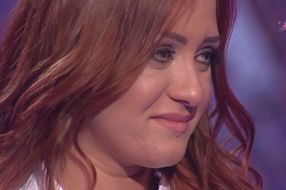 (VIDEO) ŽIRI RASPLAKAO ALEKSANDRU: Toliko su je kritikovali da je ronila suze