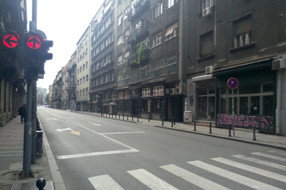 (FOTO) BEOGRAD POTPUNO PUST: Praznici ispraznili prestonicu