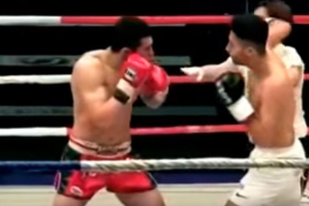 (VIDEO) OVAJ BIJE SVE REDOM: Promašio protivnika pa krošeom pogodio ženu u ringu