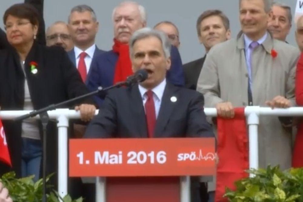 TRAŽE OSTAVKU FAJMANA: Austrijski kancelar izviždan, ali poručio da se neće povući!
