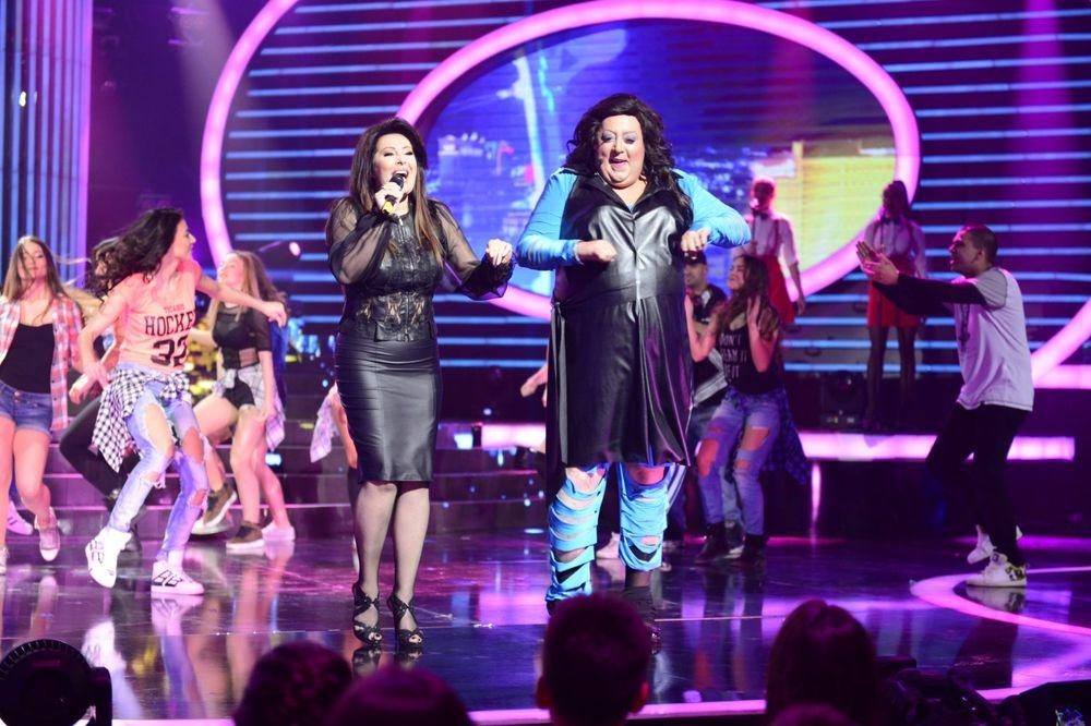 UŽIVO TLZP Dve Dragane na sceni: Pevačica oduševljena Đošinom imitacijom
