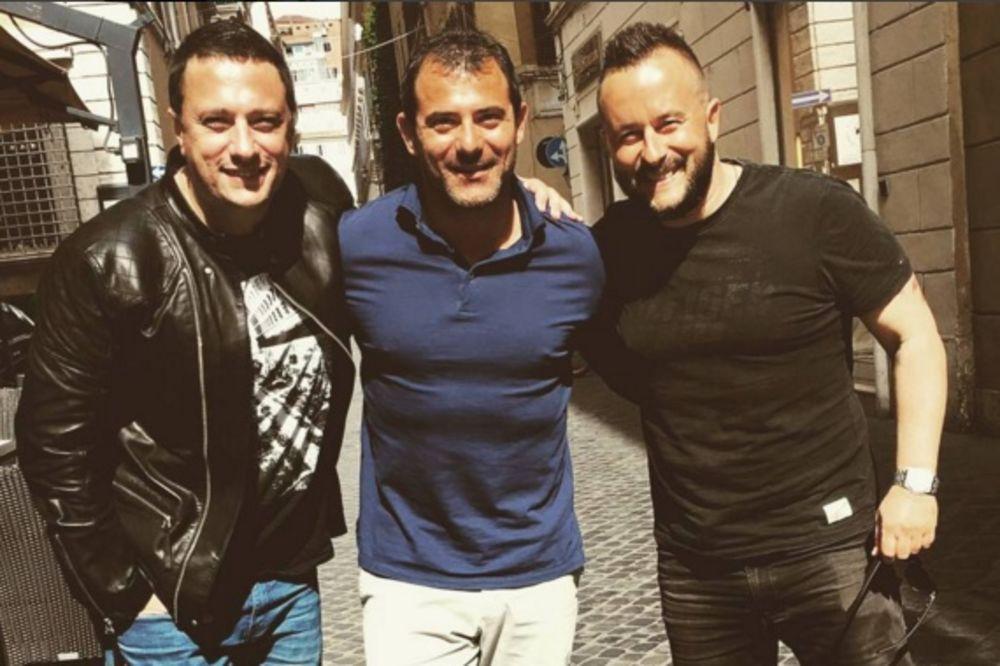 NAŠLI SE U RIMU: Evo koga su Andrija Milošević i Ivan Ivanović sreli u glavnom gradu Italije