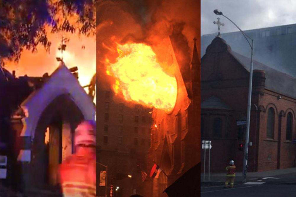 KO JE ZAPALIO 4 SVETINJE NA VASKRS? Do temelja gorele crkve u Rusiji, Njujorku, Sidneju i Melburnu